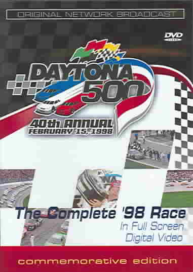 1998 DAYTONA 500 BY EARNHARDT,DALE (DVD)